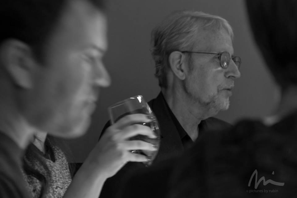 Film editor and sound designer Walter Murch. Photo ©Michael Rubin.