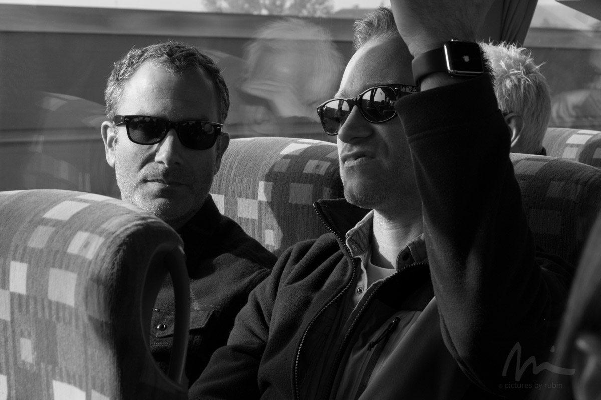 Sony Imageworks vfx supervisor Daniel Kramer (l.) and Blue Sky animation supervisor Scott Carroll. Photo: Michael Rubin.