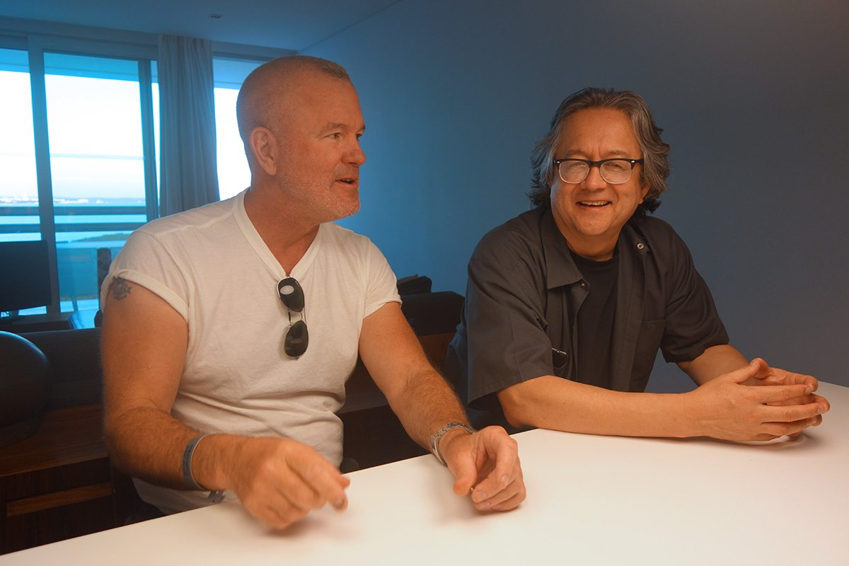 Steve Williams (left) and Mark Dippé sit down with Cartoon Brew.