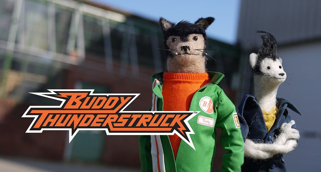 """Buddy Thunderstruck"" is an upcoming series that Stoopid Buddy is producing for Netflix."