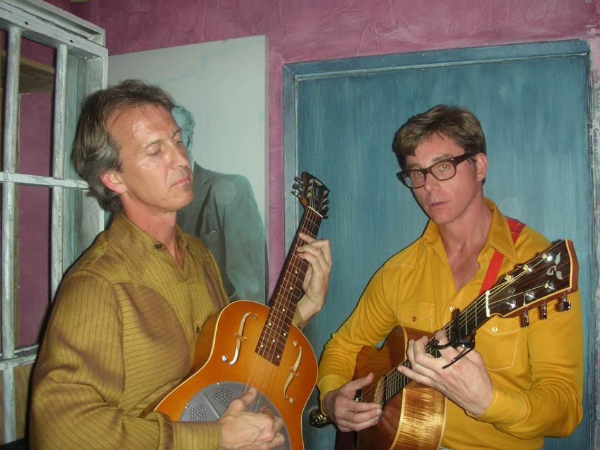David Feiss (l.) and John Kricfalusi.