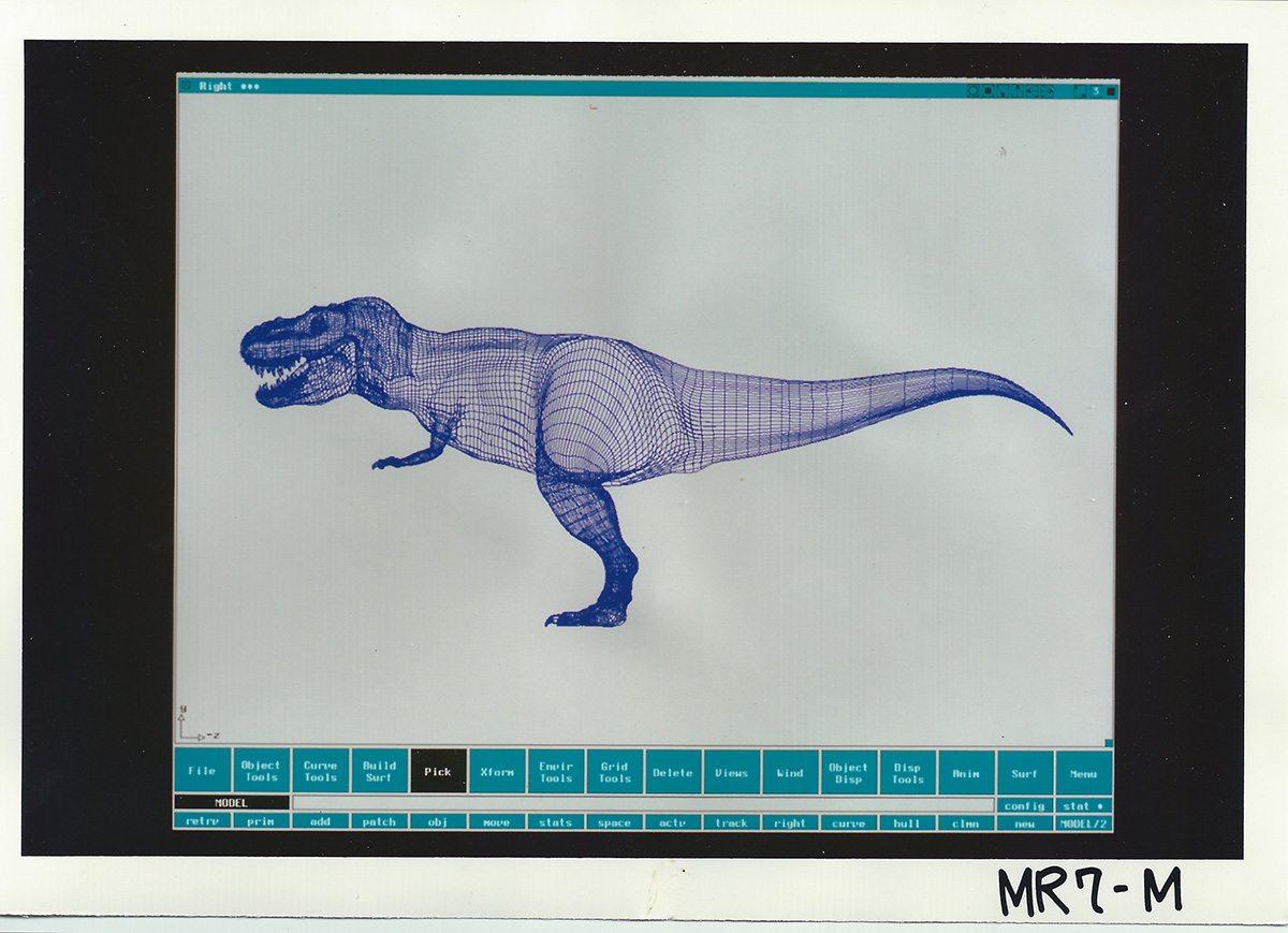 The T-Rex CG model.