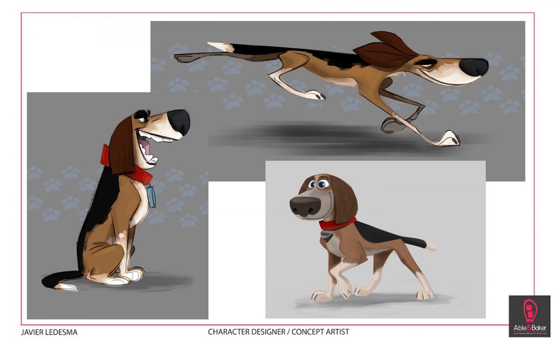 character design concepts for ozzy by javier ledesma. Black Bedroom Furniture Sets. Home Design Ideas