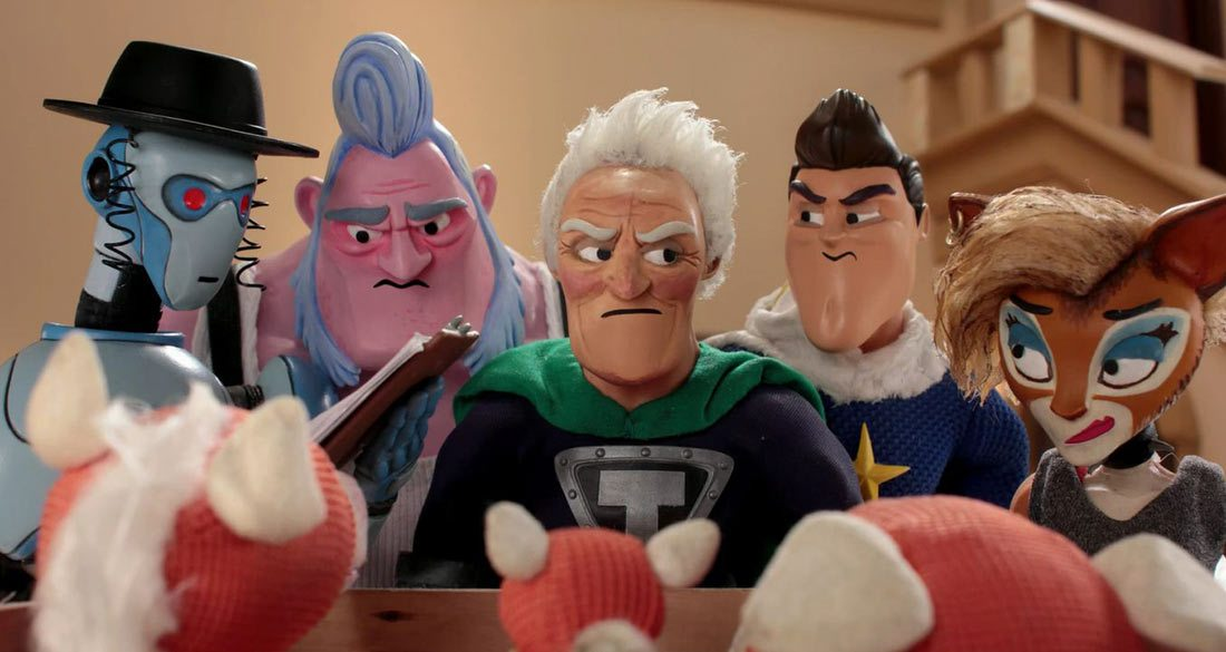 """Supermansion,"" a series created for Sony's online entertainment network Crackle, was recently renewed for a second season."