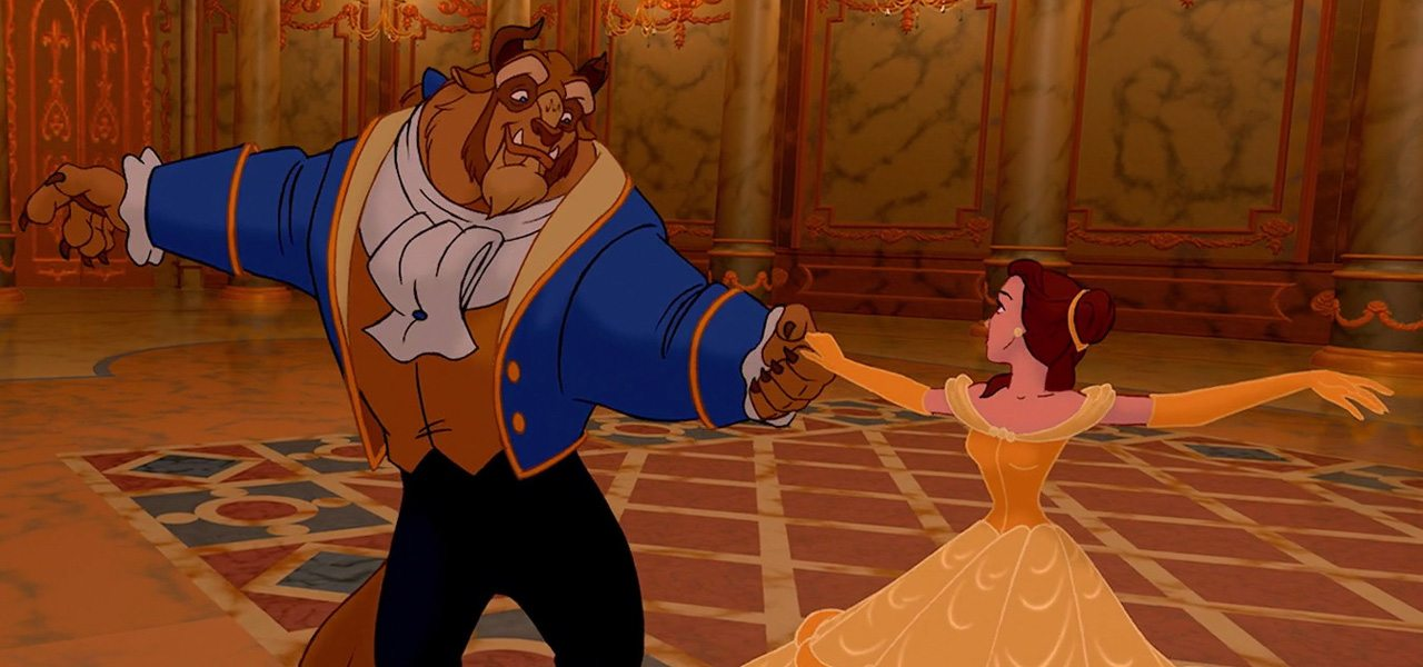25 Years Ago The CG Secrets Of Ballroom Sequence In Beauty And Beast