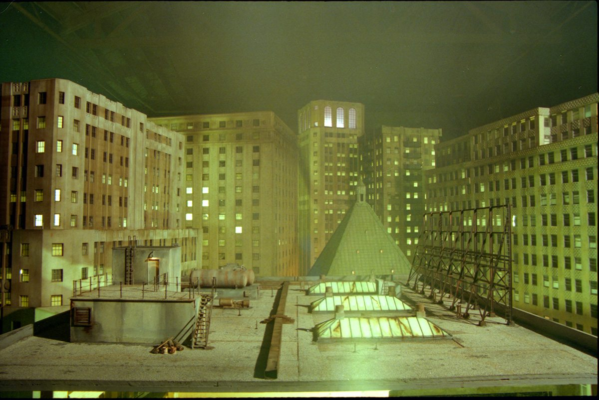 Miniature by Vision Crew Unlimited, which would be composited into the film by Cinesite.