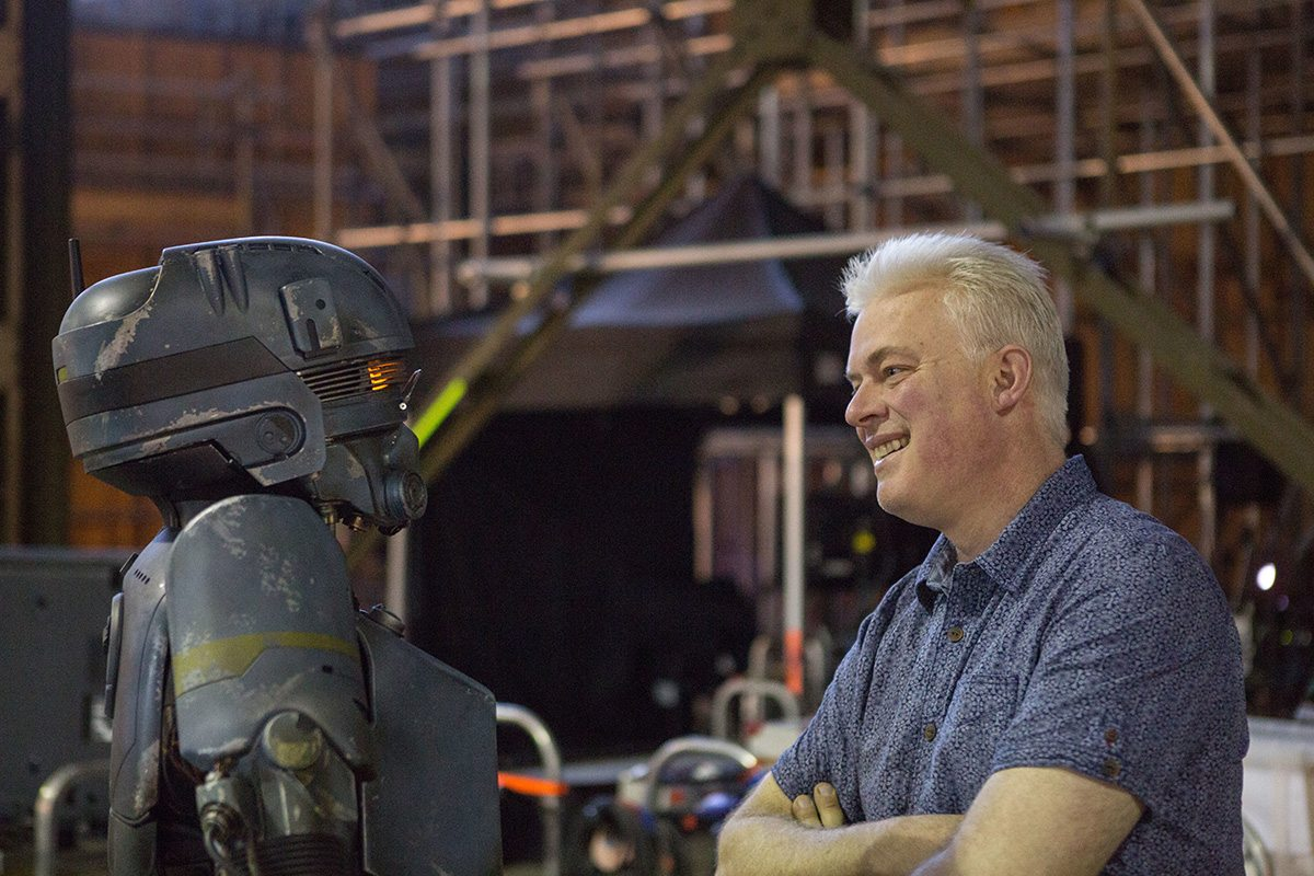 Creature effects supervisor Neal Scanlan. Image credit: John Wilson. © 2016 Lucasfilm Ltd.