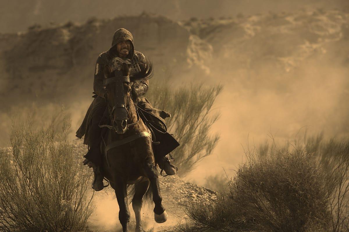 Michael Fassbender plays assassin Aguilar de Nerha.