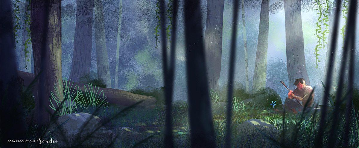 Concept art for Sonder.
