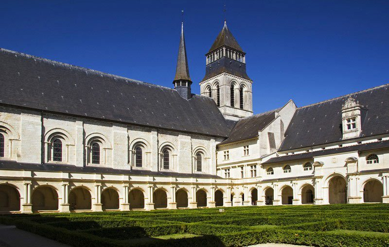 Fontevraud Abbey.