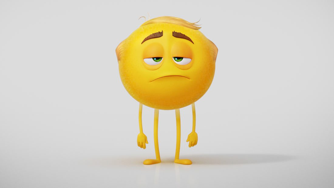 a talking piece of shit appears in  u0026 39 the emoji movie
