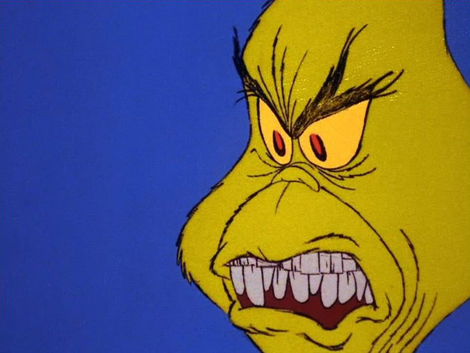 It's just an image of Fabulous Grinch Cartoon Images