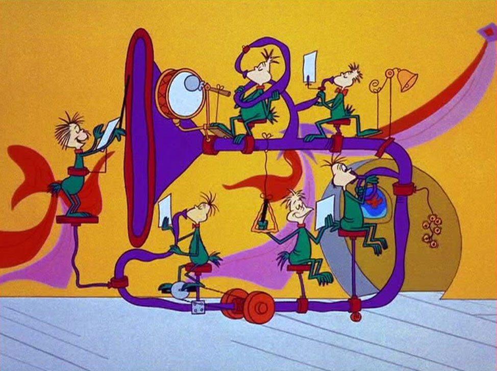 The Grinch Who Stole Christmas Cartoon.How The Grinch Stole Christmas Is 50 Years Old Today And