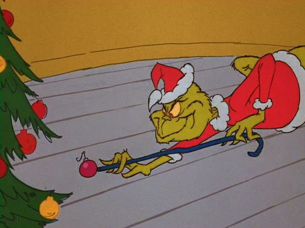 """How the Grinch Stole Christmas!"" still."
