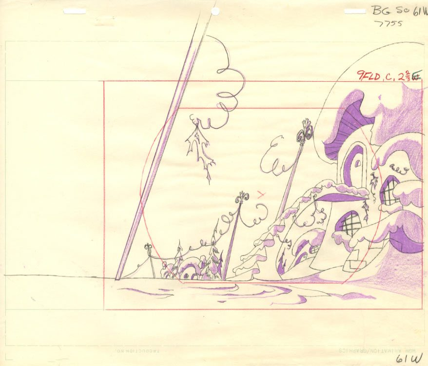 Layout drawing (artist unknown).