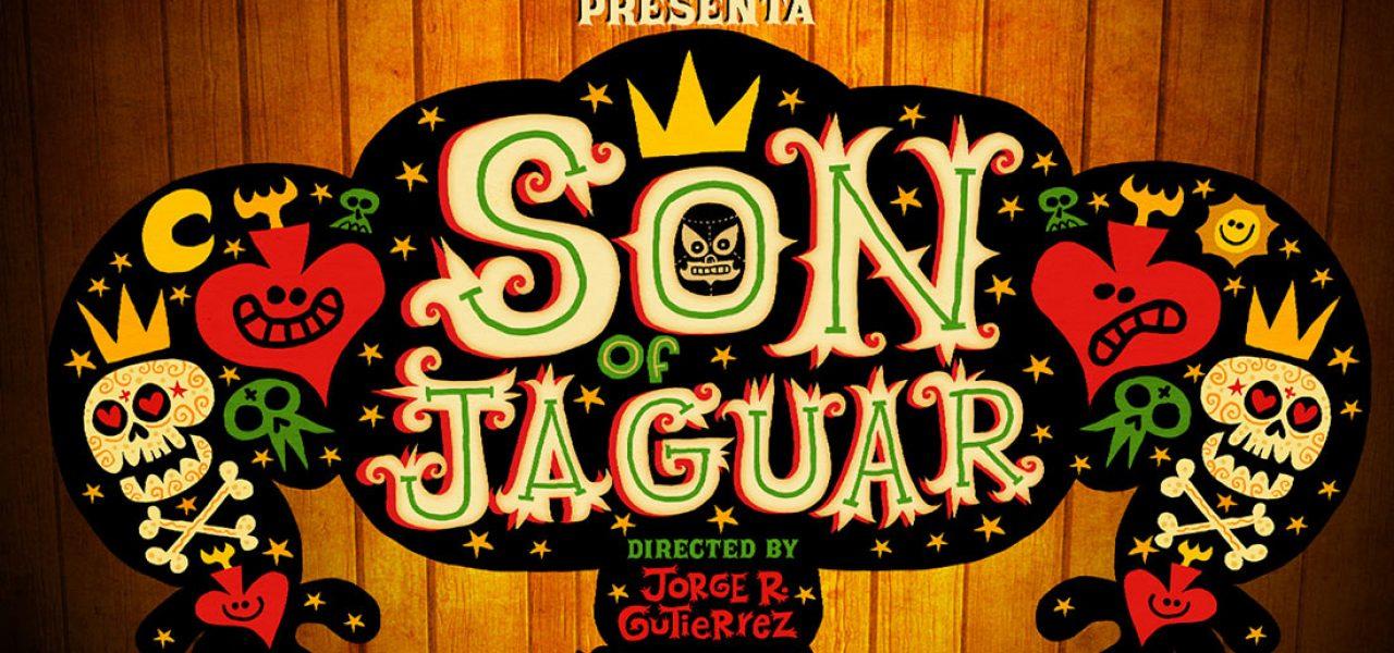 "The Google Spotlight Stories team. In front: creative director Jan Pinkava, Jorge Gutierrez (pointing upward), exec producer Karen Dufilho, and ""Son of Jaguar"" producer David Eisenmann."