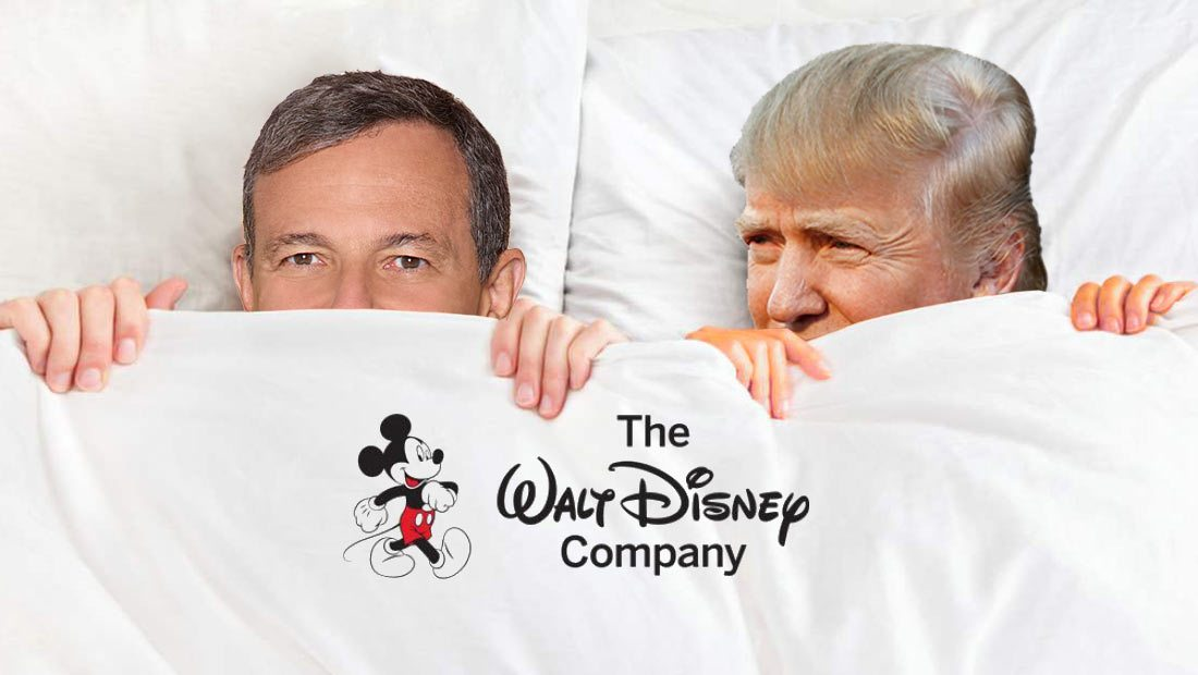 The Disney Company Needs To Get Out of Trump's Bed