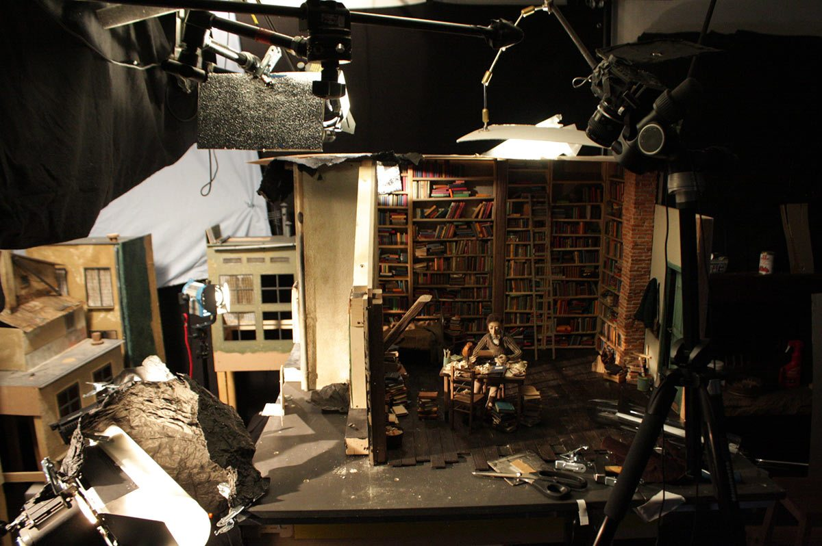 """A set from the production of """"Boles."""""""