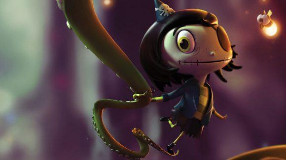 Nitrogen On Board To Animate Scarygirl Feature Arkie