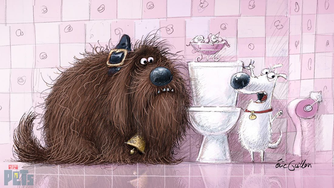 """Secret Life of Pets"" by Eric Guillon"