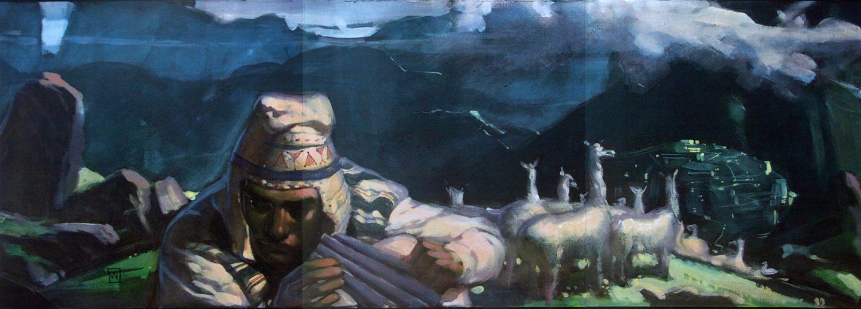 """Kingdom of The Sun"" visual development by John Watkiss."