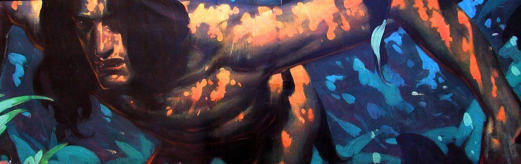 """Tarzan"" visual development by John Watkiss."