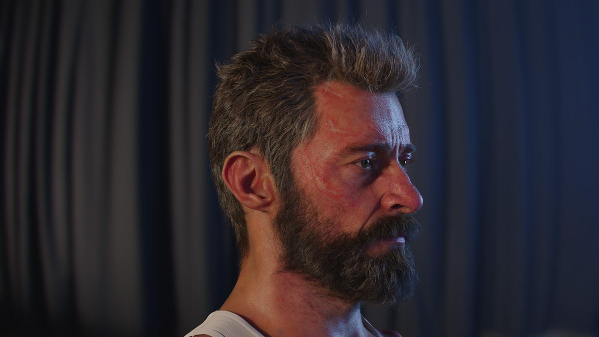 Digital Logan in lookdev.