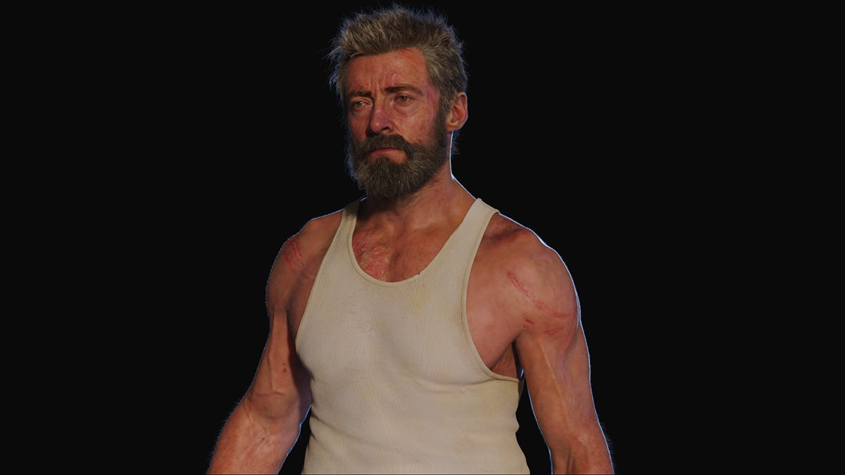 Digital Hugh Jackman.