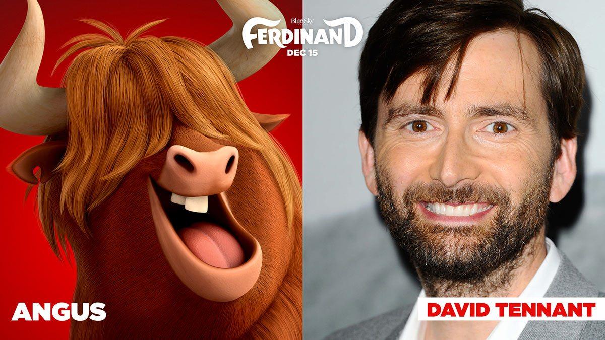 """Ferdinand the Bull"" cast."