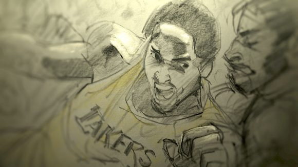 """Dear Basketball"" by Glen Keane."