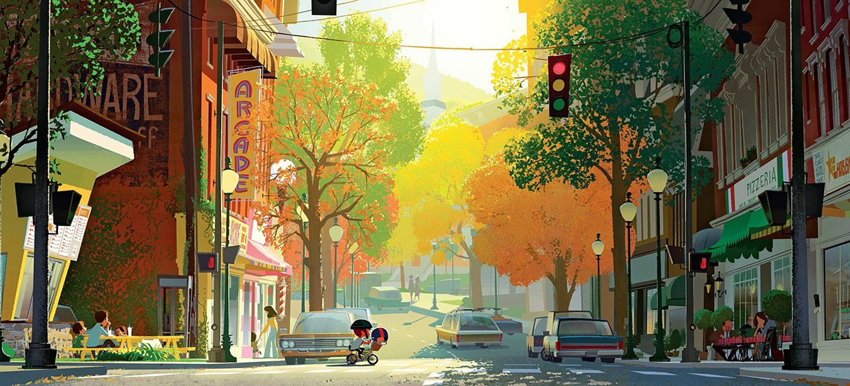 Concept painting from 'The Boss Baby.'