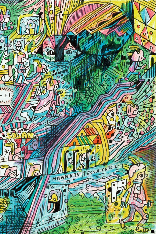 Artist of the Day: Ron Regé, Jr.