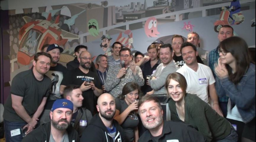 Animation Exchange group photo.
