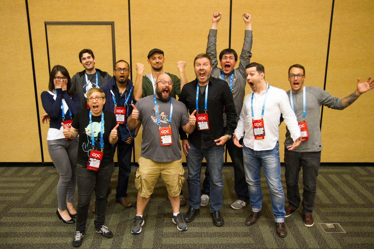 Presenters from the GDC Animation Bootcamp.