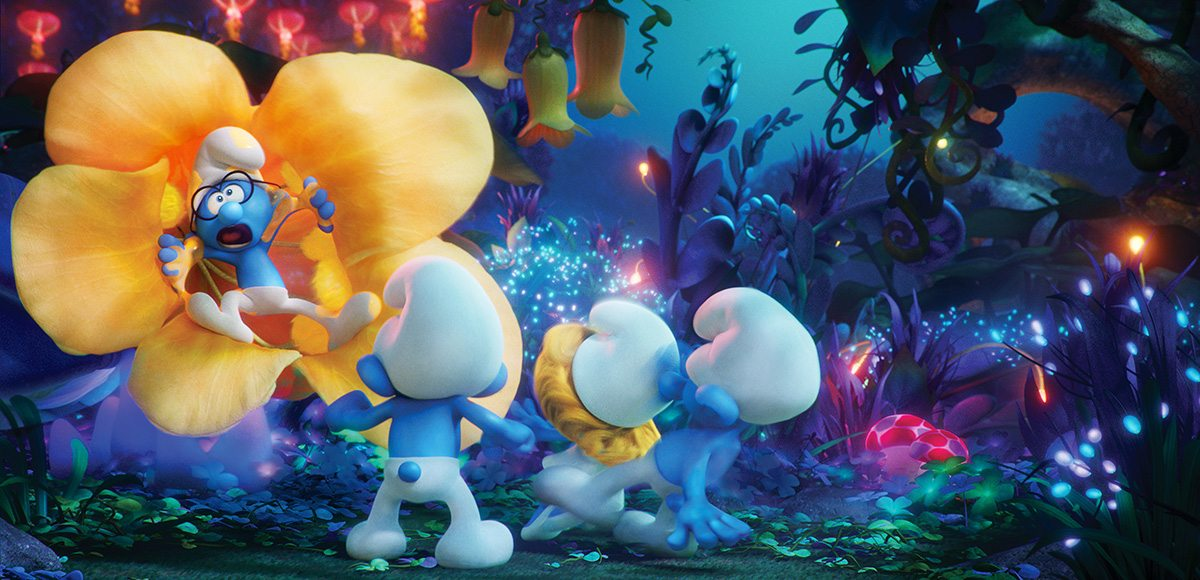 Going into and beyond peyo s world for 39 smurfs the lost village 39 - Hefty smurf the lost village ...