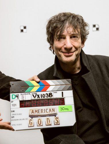 American Gods novelist Neil Gaiman.