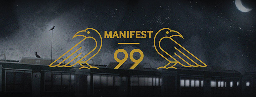 "A teaser image for ""Manifest 99,"" the first original IP that Flight School will release this summer."