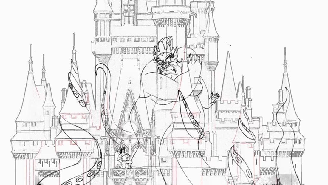 the few 2d animators left at disney are working on