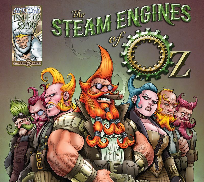 """The upcoming animated feature """"The Steam Engines of Oz"""" will be co-produced in Tenerife."""