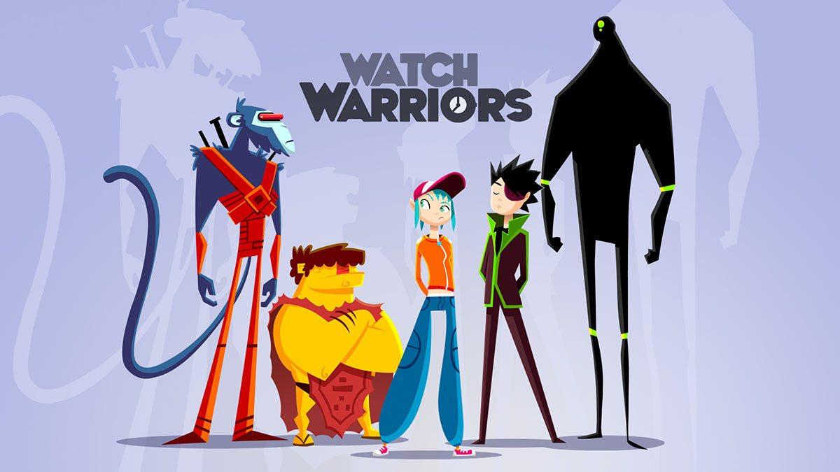 """Watch Warriors,"" a project by Tenerife's Salero Studio."