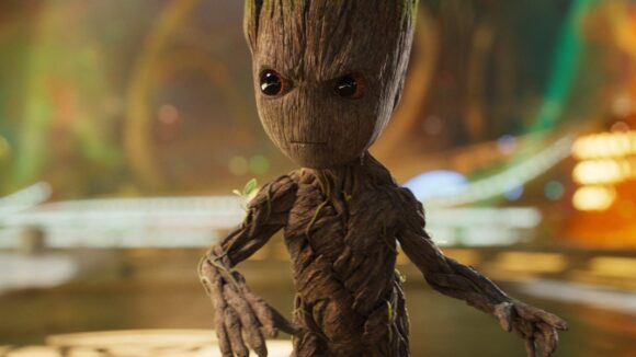 How They Animated Baby Groot In That Epic Opening To Guardians Of