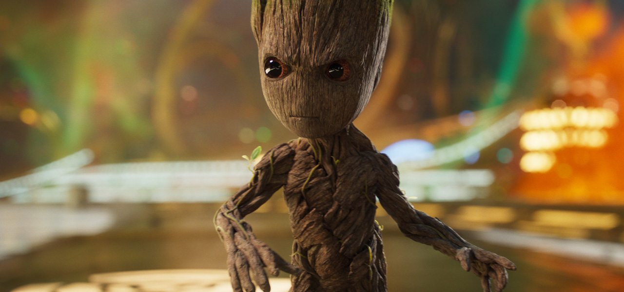 How They Animated Baby Groot In That Epic Opening To