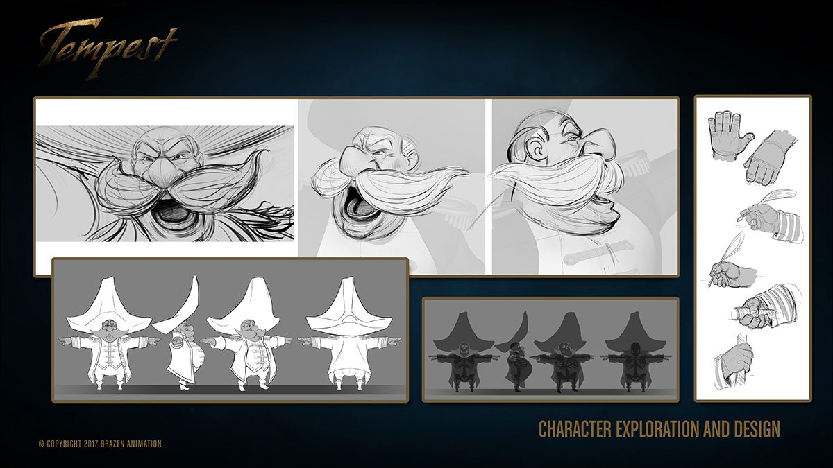Tempest character exploration.