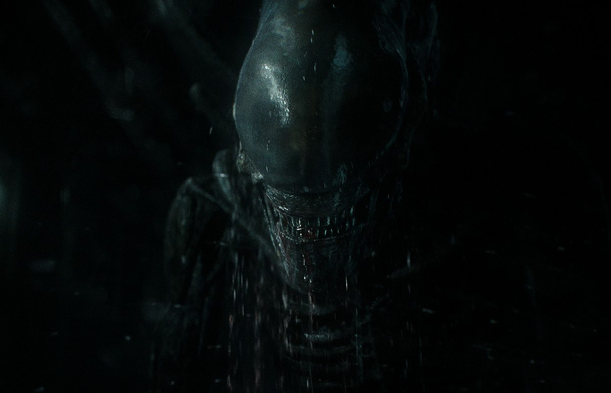 The final cg Xenomorph.