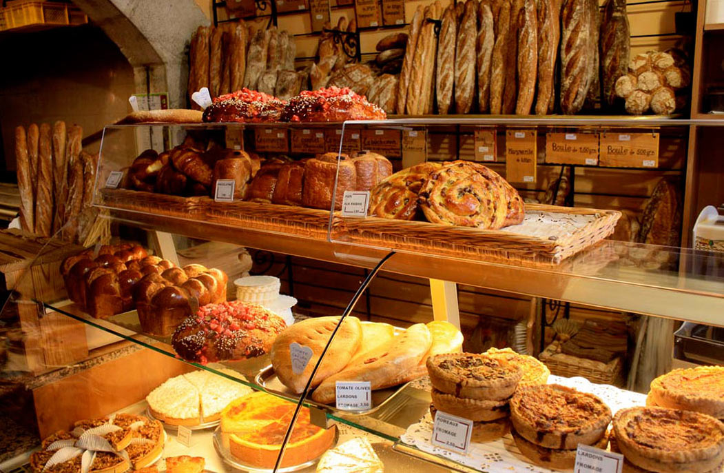A bakery in Annecy. (Photo via.)