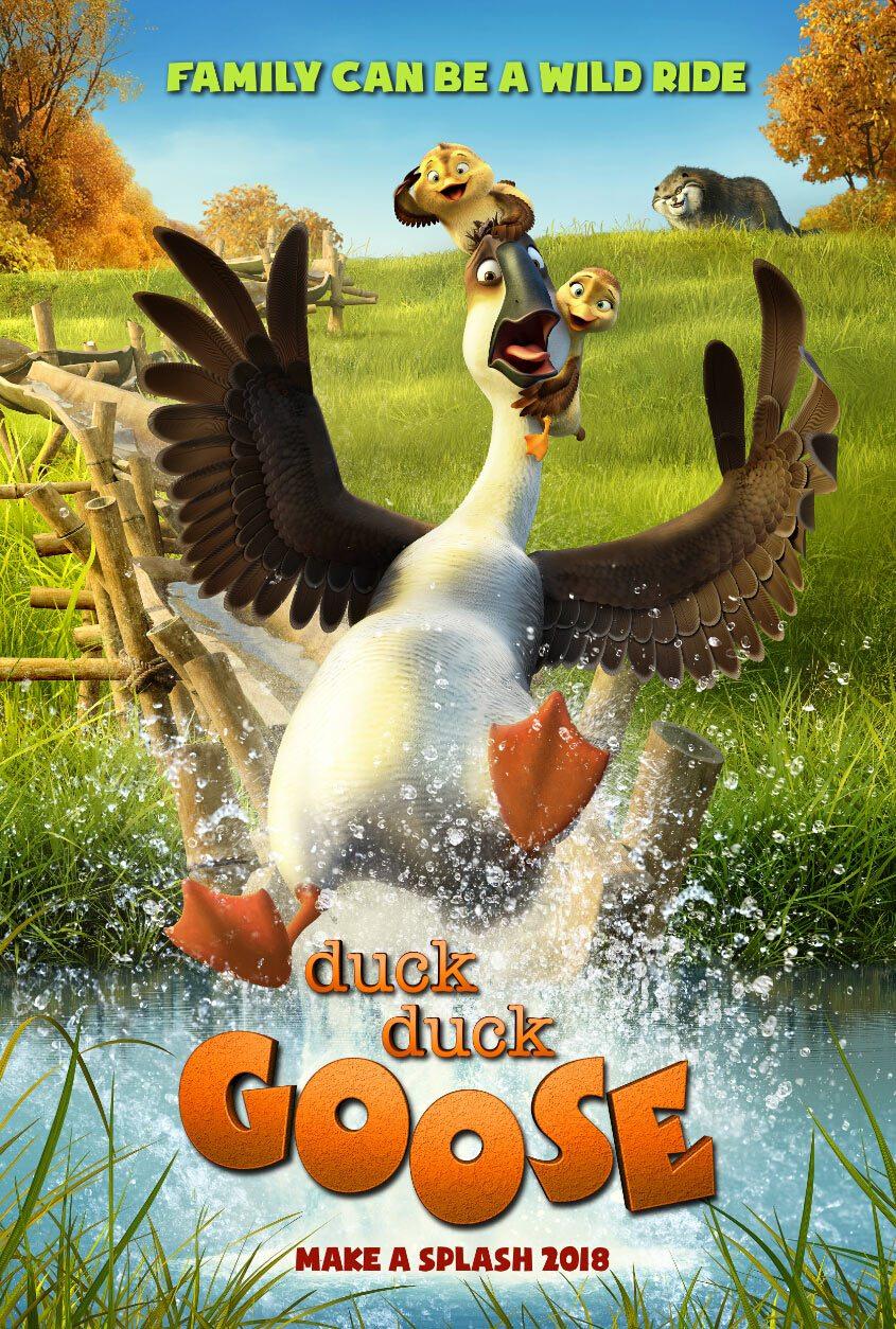 """""""Duck Duck Goose"""" poster"""