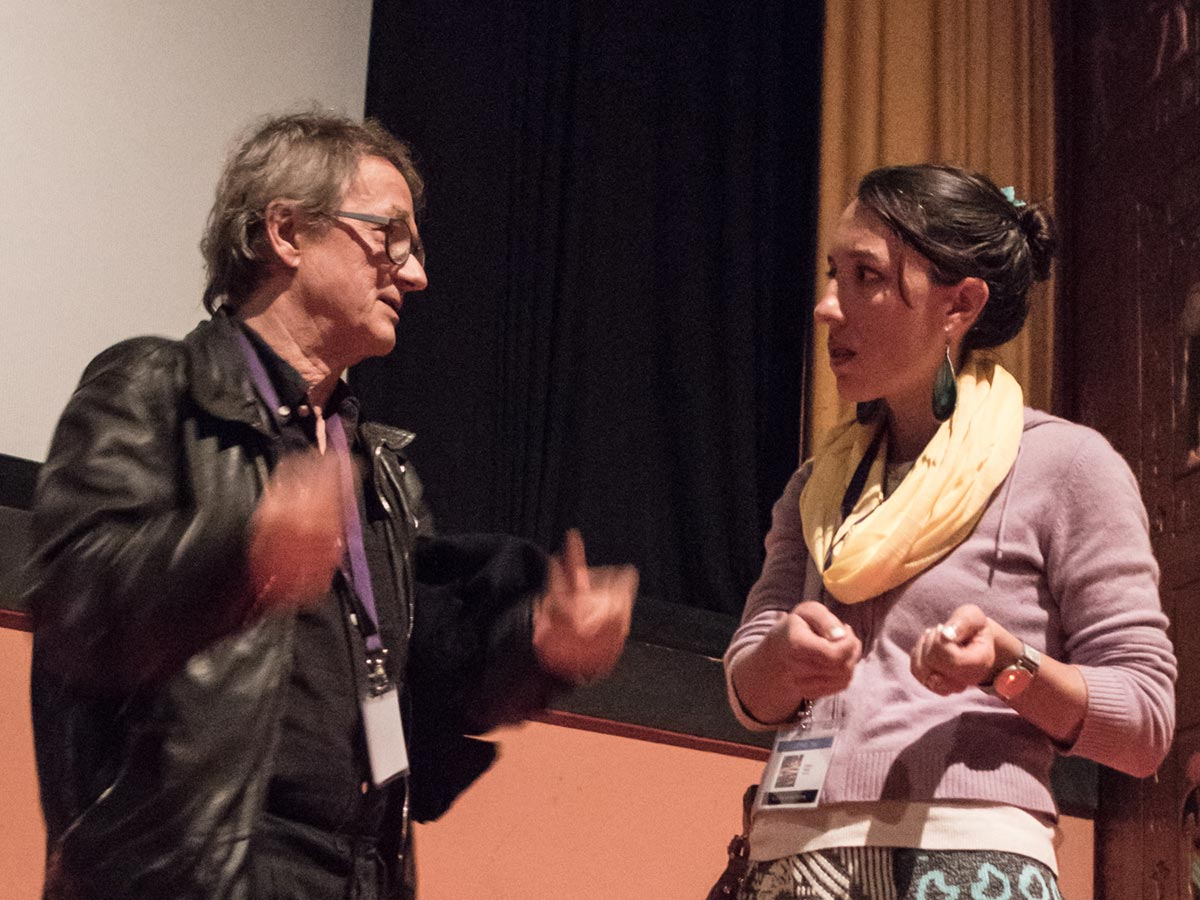 This piece's author finally gets some proper answers from Swiss animator Georges Schwizgebel. Photo: Thom Parks.