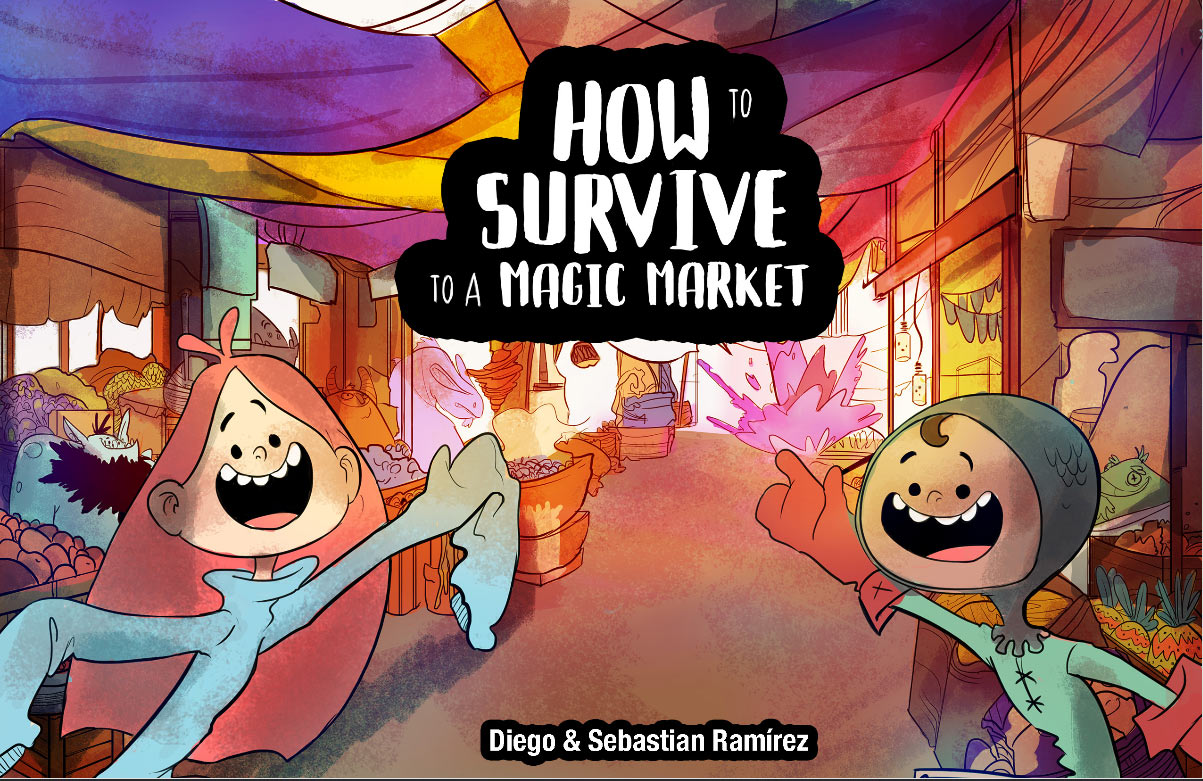 """""""How to Survive to a Magic Market."""""""