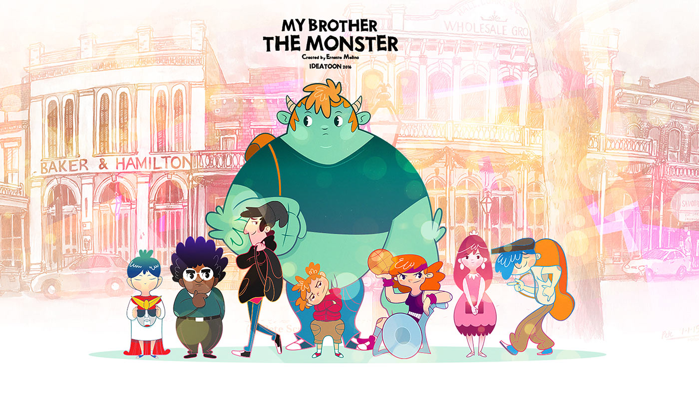 """""""My Brother the Monster."""""""