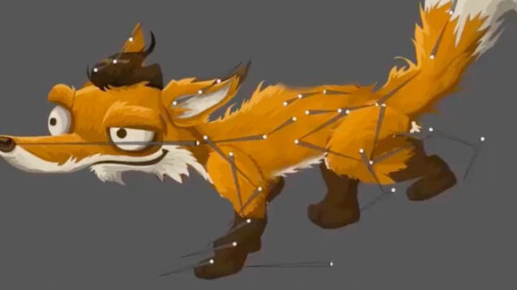 Midas Touch Automates 2D Animation With New Creature Tool